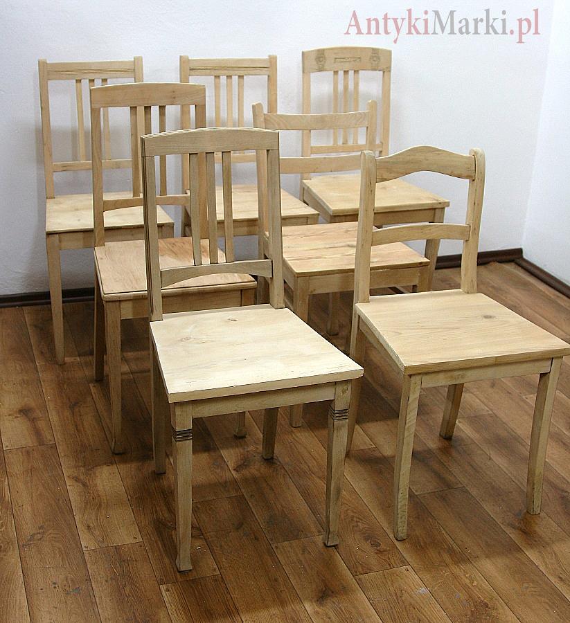 Krzesła Secesyjne