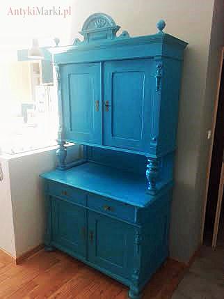 Kredens Eklektyczny Niebieski