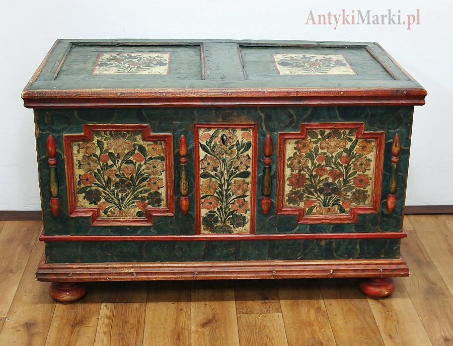 Kufer w Oryginalnym Malunku