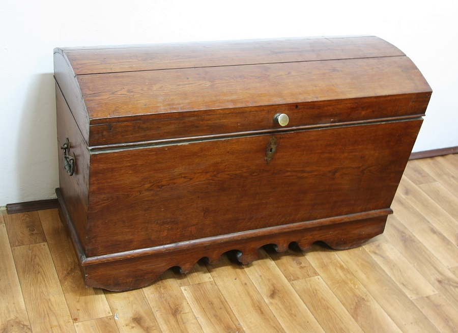 Kufer Ludowy w Oryginalnej Politurze